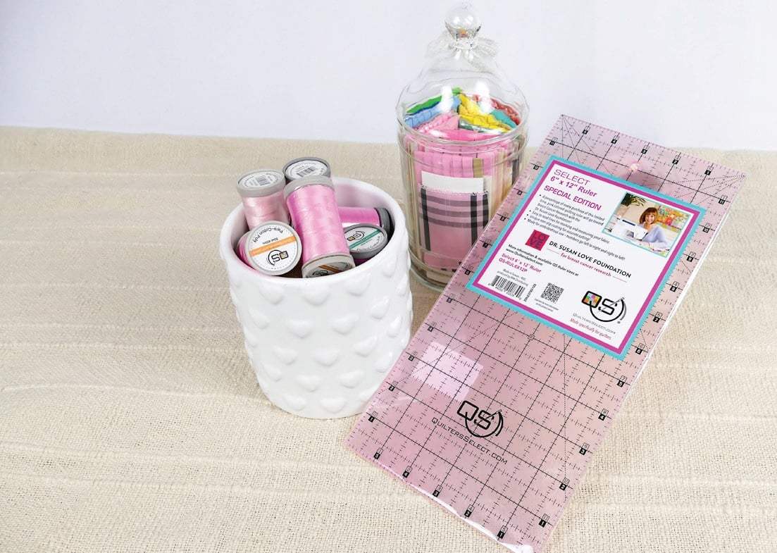 Quilters Select Special Edition Pink Ruler