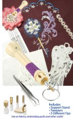 Floriani Crystal Embellisher and Mini Iron Set