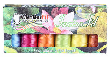 Wonderfil Threads Invisafil Pre-Pack B007