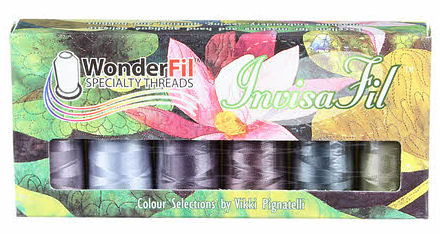 Wonderfil Thread Invisafil Pre-Pack B010