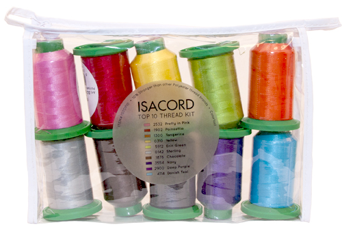 Isacord Top Ten Thread Kit
