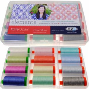 Aurifil Elements Collection By Kate Spain 12 Large 40/50wt KS5040EC12