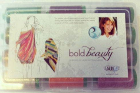 Aurifil Bold Beauty Kit 12 Large 40wt Sp By Pat Bravo PB40BB12
