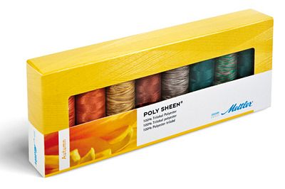 Mettler Thread 8 Sp Polysheen Autumn Gift Pack PS83