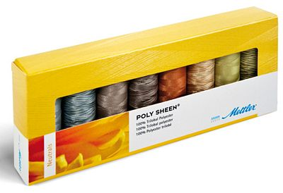 Mettler 8 Spool Polysheen Neutrals PS85