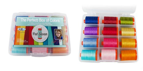 Aurifil Thread Perfect Box of Colors by Pat Sloan PSCB5012