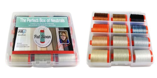 Aurifil Thread Pat Sloan Perfect Box Of Neutrals PSNB5012