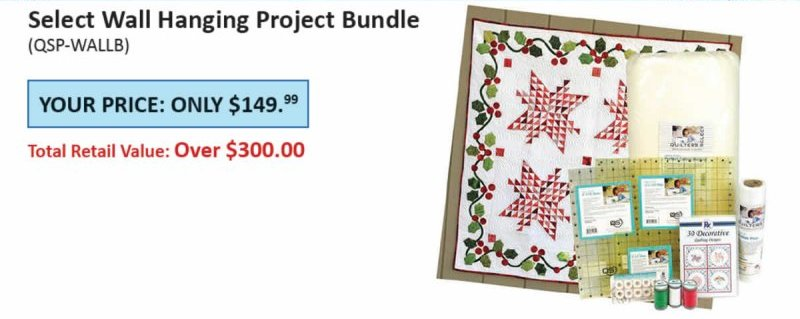 Quilters Select Wall Hanging Project Bundle
