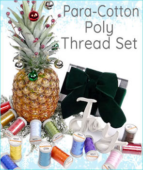 Quilters Select Para-Cotton Poly Thread Set