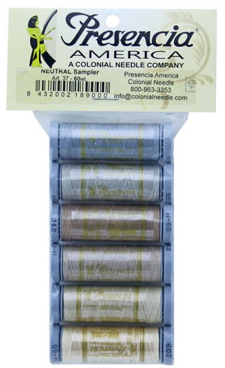 Presencia Threads 60wt Sampler Neutral