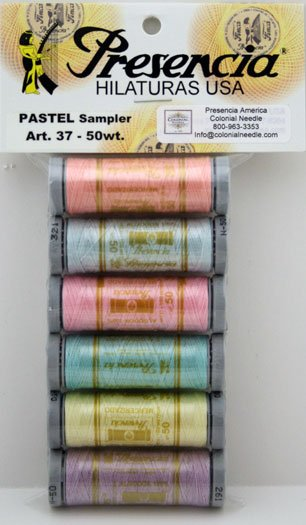 Presencia Thread 50wt Sampler Pastel