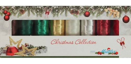 Mettler Polysheen Christmas Collection XMAS8-KIT