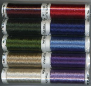 Sulky Second 10 40 weight Rayon Thread Set 942-02