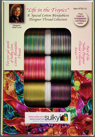 Sulky Blendables 10 Spool Heidi Lund Life In The Tropics 733-13