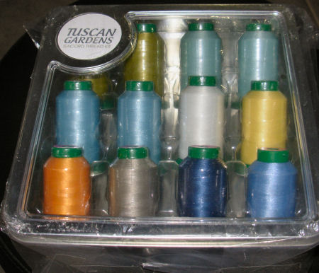 Isacord Tuscan Gardens Thread Kit 2922-TG
