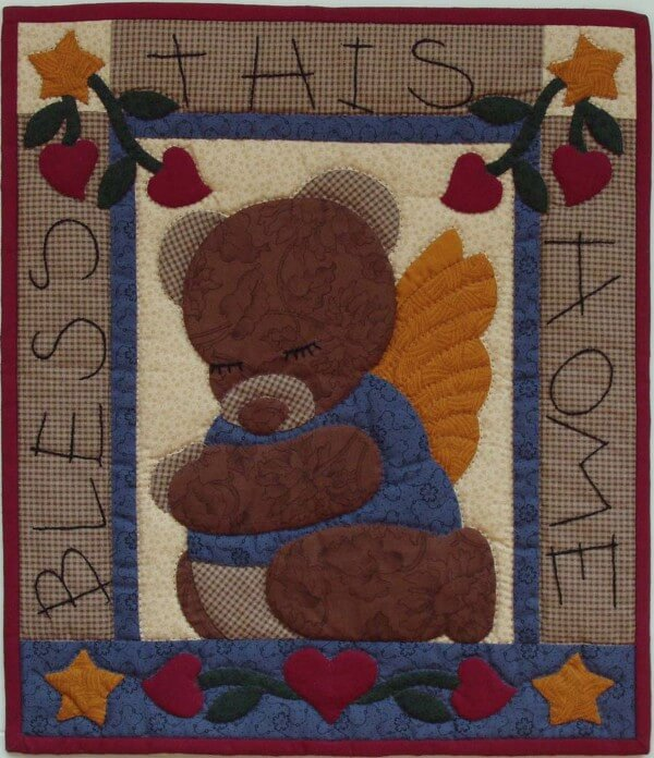 Bear Blessing Wall Quilt Kit from Rachels of Greenfield
