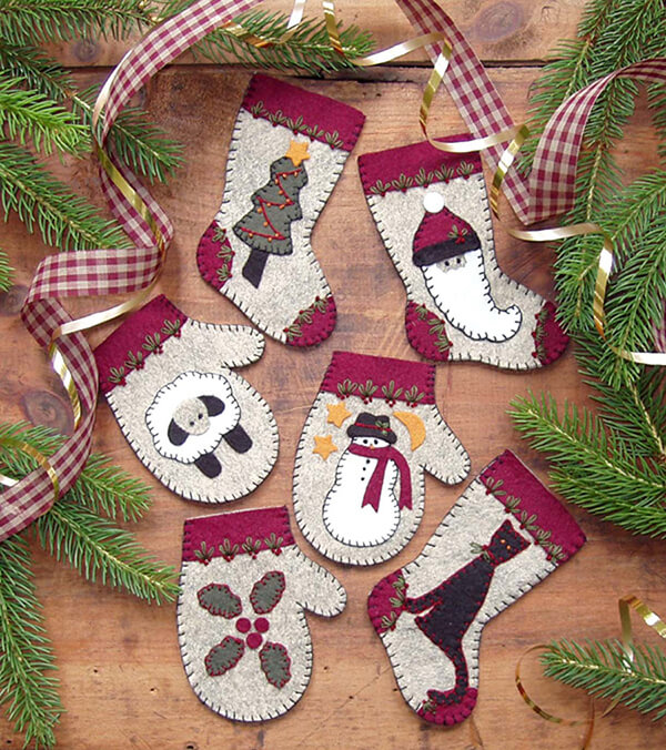Christmas Woolens Christmas Ornament from Rachels of Greenfield