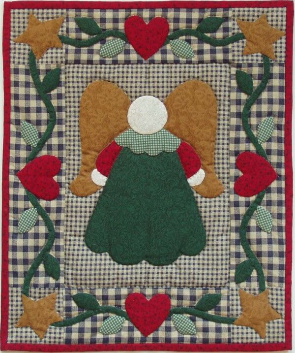 Little Angel Wall Quilt Kit from Rachels of Greenfield