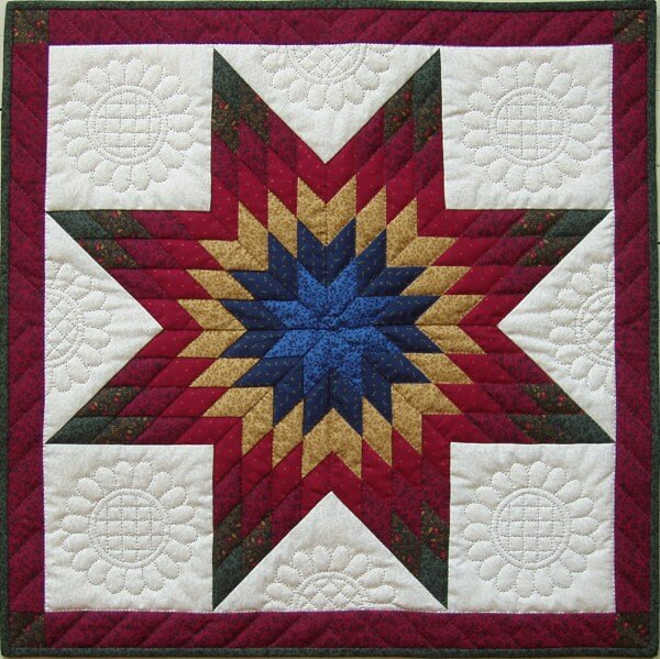 Lone Star Wall Quilt Kit from Rachels of Greenfield