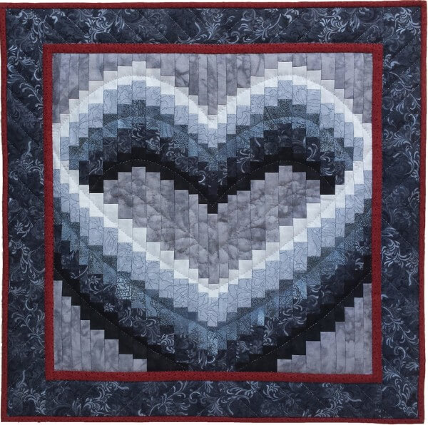 Open Heart Wall Quilt Kit from Rachels of Greenfield