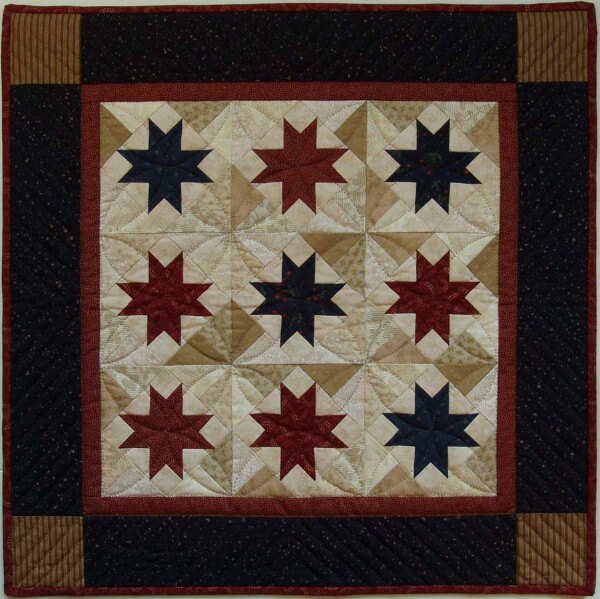 Scrap Stars Wall Quilt Kit from Rachels of Greenfield
