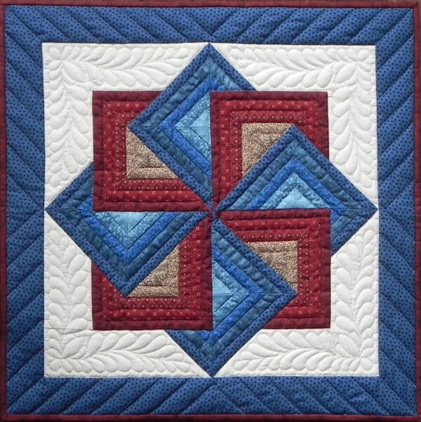 Starspin Wall Quilt Kit from Rachels of Greenfield