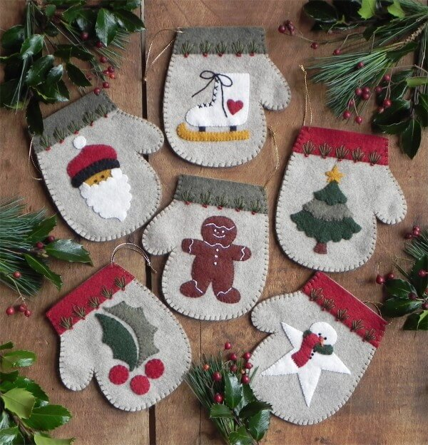 Warm Hands Christmas Ornament Kit from Rachels of Greenfield