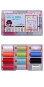 Aurifil Piecing and Quilting 50wt Collection by Amanda Murphy AM50AC12