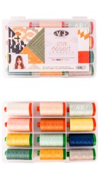 Aurifil Sewn Desert Set By April Rhodes 12 Large Spools AP5040SD12