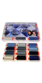Aurifil Tinsel Collection 12 Large 50wt Spools by Cheri Good Designs CG50TC12