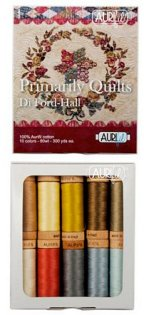 Aurifil Primarily Quilts 80wt Thread Set By Di Ford-Hall