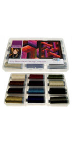 Aurifil Hand Piecing Collection 12 Large 28wt Spools by Jinny Beyer JB28HP12