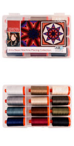 Aurifil Machine Piecing Collection by Jinny Beyer 12 Large Spools JB50MP12