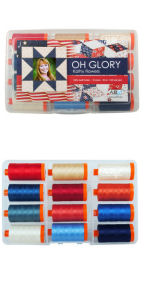 Aurifil Oh Glory by Kathy Flowers KF50OG12