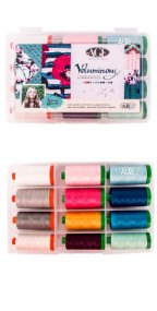 Aurifil Voluminous Collection 12 Large 40wt Spools by Katarina Roccella KR5040VC12