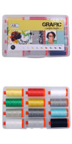 Aurifil Grafic by Latifah Saafir 12 Large Spools LS50GC12