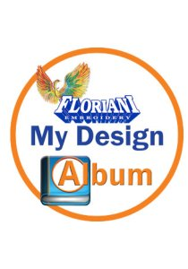 Floriani My Design Album with FREE 100 Design Set
