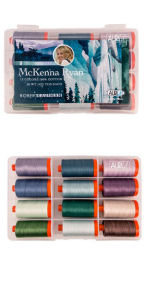Aurifil McKenna Ryan Collection by McKenna Ryan 12 Large Spools MR50MR12