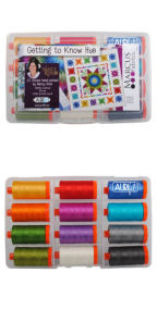 Aurifil Getting To Know Hue by Nancy Rink NR50GKH12
