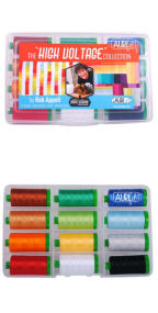 Aurifil High Voltage Collection by Rob Appell 12 Large Spools RA40HV12