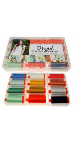 Aurifil Dryad Collection 12 Large 50wt Spools by Shannon Brinkley SB50DC12