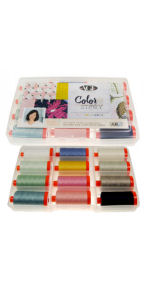 Aurifil Color Story Collection 12 Large 50wt Spools by Sharon Holland SH50CS12