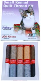 Aurifil Small Kennel Collection 10 Small 50wt Cotton Spools by Quilt Pattern Mag SK50QT10