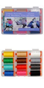 Aurifil Thread Painting: The Mammal Collection By Sophie Standing SS50MC12