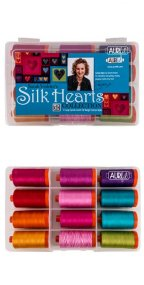 Aurifil Silk Hearts Set By Sarah Vedeler SV-5012