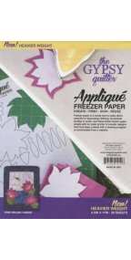 Gypsy Quilter Applique Freezer Paper 8.5 in x 11in