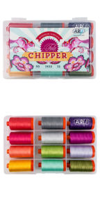 Aurifil Chipper by Tula Pink 12 Large Spools TP50CC12