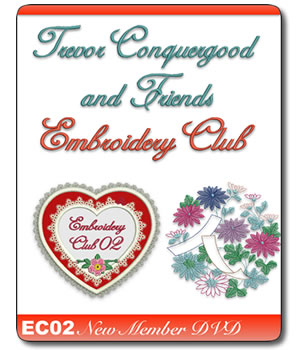 Trevor Conquergood and Friends Embroidery Club 2