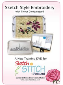 Sketch Style Embroidery with Trevor Conquergood