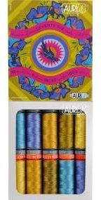 Aurifil Seventy Six Cool Palette Collection From Alison Glass AG5028SSCP10
